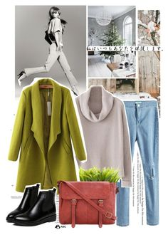 """Street Style"" by flavia-hajna ❤ liked on Polyvore featuring Dot & Bo, Chicnova Fashion and WithChic"