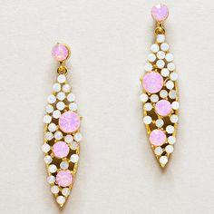 Crystal Aspen Earrings on Emma Stine Limited