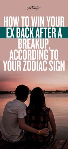 Sometimes when you break up with someone, you don't actually get over them. You miss them, you think about them constantly, and you want them back. If you want something, go after it! Even if it is your ex. Chances are he might be missing you too, and if he fell for you once he can fall for you again. #zodiac #horoscope #astrology #zodiacsign