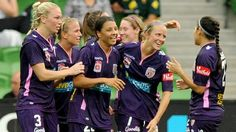 A good day out in Melbourne for Perth Glory FC with 6 goals and a brace each to Diego Castro & Sam Kerr.  #MCYvPER