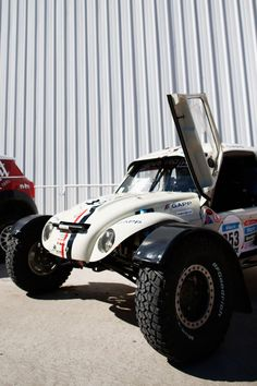 This Awesome 250 HP Diesel VW Buggy Is Racing In The 2015 Dakar