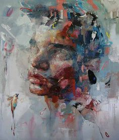 Ryan HEWETT | The Unit London.  Artists whose work I love and inspire me.  See paintings from Mark Phi Creations at http://markphicreations.com