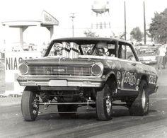 Vintage Drag Racing - Gasser - Chevy II