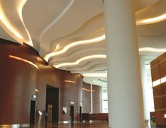 We could do this for the ceiling or even the walls: if we wanted to do the arches in the lobby, we could have LED tape around them as well: Product Spotlight: LED Tape Lights | Pegasus Lighting Blog