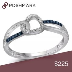 10kt White Gold Womens  💎 ❤️ Ring 1/10 Cttw 10kt White Gold Womens Round Black Colored Diamond Heart Love Fashion Ring 1/10 Cttw  Product Specification Gold Purity & Color10kt White Gold Diamond Carat1/10 Ct.t.w. Diamond Clarity / ColorI2-I3 / Black Ring Size7 Gram Weight2.09 grams (approx.) StyleHearts & Love Item Number-11193737BX Jewelry Rings