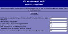 AUTOEVALUACIÓN 1. ORGANIZACIÓN POLÍTICA DE ESPAÑA