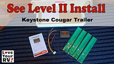 See Full Blog Post - http://www.loveyourrv.com/rv-tank-level-monitoring-system/ In this video, I install the SeeLevel 709-4PH RV Tank Level Display system into my 2011 Keystone Cougar fifth wheel trailer. I show you how I wire the control/readout panel in place of the OEM tank monitor and wire the 4 sensor strips to my fresh water and waste tanks.