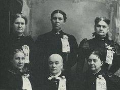 Whitman Massacre Survivors                                                                                                        Back Row: Kimball daughter, Nancy Osborn Jacobs, Mina Kimball Megler                                                                                                        Front Row: Elizabeth Sager Helm, Lorinda Bewley Chapman, Gertrude Hall Denny