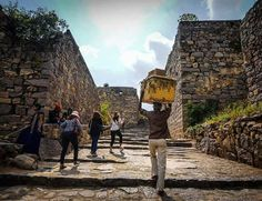The climb to the peak of the hill fort palace. Clicked by @farizatraz #hyderabad #world #sonya6000 #sonyphotography #hyderabadi #instagood #instadaily #tbt #hillfort #travel #heritage #india #sohyderabad by so.hyderabad