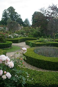 BROUGHTON CASTLE GARDENS by Mijkra, via Flickr