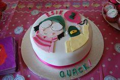Sarah and Duck Birthday Cake