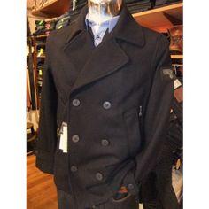 disel men clothing pictures   Diesel Reefer Jacket Pea Coat Wanty Mens Designer Branded Clothes ...