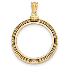 """25x20mm-3.4gr Details about  /14K ORO PURO CADENA DE GUADALUPE-18/""""//14K GOLD GUADALUPE NECKLACE"""