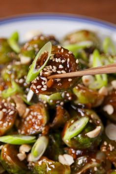 Kung Pao Brussels Sprouts Are Insanely Addictive