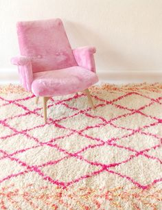 Since you seemed to enjoy Pink Rug Co., I thought I'd share another fantastic online source for Moroccan rugs, TheBoucherouite Shop. The Marrakech-based Etsy shop sells an exceptional selection of...