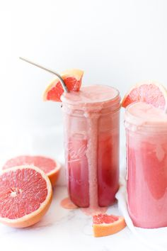 Strawberry Grapefruit Smoothie: Oh So Delicioso