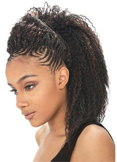 hand braided hair styles | see 1 more picture