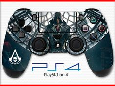 Assassin's Creed Skin PS4 Controller Skin Wrap Sticker Playstation 4 Skin Syndicate Skin