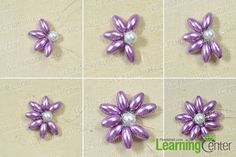 make an orchid pearl flower2
