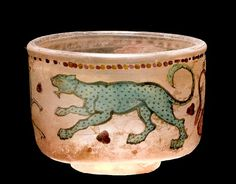 Himlingoje Roman Cirkus glass cup 100-200 A.D.
