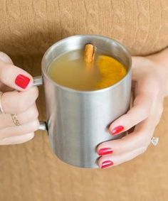 Our new favorite spiced & spiked cider