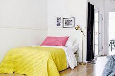 A cheerful small Swedish apartment