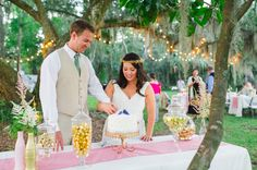 CHARLESTON WEDDINGS - Vintage Pink + Gold Runneymede Plantation wedding by Priscilla Thomas Photography and Ashley Nicole Events on A Lowcountry Wedding