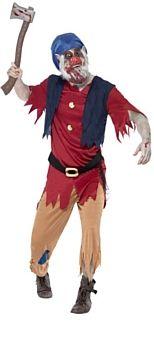 Zombie Dwarf Halloween Costume http://www.partypacks.co.uk/zombie-dwarf-costume-pid98204.html