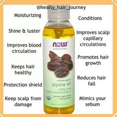 Benefits of Jojoba Oil...I use this on my hair and skin everyday. ~AF~