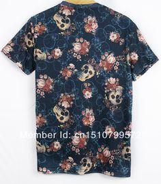 2014 New Fashion women/men short sleeve leaf/feather/skull/fruit/food/space galaxy 3D print t shirt tops Tees Plus Size M-XXL