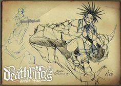 The Deathlings: Ani  by Michela Da Sacco