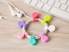 3pcs Magnetic Adsorption Wire Cable Cord Key Earphone Storage Holder Clips Organizer Sale - Banggood.com