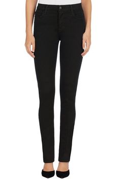 With the slim fit of our super skinny and a high-rise waist, Maria in our new Seriously Black denim delivers luxurious comfort in a sublimely soft fabric that will never fade in color or style. J Brand, Cropped Skinny Jeans, High Rise Jeans, Boutique, Fashion Branding, Super Skinny, Black Denim, Plus Size Outfits, My Style