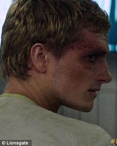 Hunger Games: Mockingjay part 1, Peeta. This pic almost made me cry...