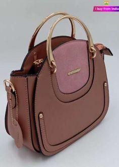 Handbags Online   Buy Handbags for women Discount   i Buy From India Branded Handbags Online, Beautiful Handbags, Designer Handbags, Leather Handbags, Women Accessories, India, Pink, Fashion, Cute Handbags