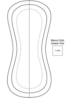 I'll work up the pdf templates for two different sewing styles of mama cloth (cloth menstrual pads and panty liners) soon. For now, I'...