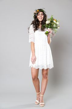 Sally Eagle's Mia bridesmaids dress from her bridal collection (NZ) Vintage Inspired Wedding Dresses, Designer Wedding Dresses, Perfect Wedding Dress, Event Styling, Bridal Collection, Sally, Bridesmaid Dresses, Bridesmaids, Lace Skirt