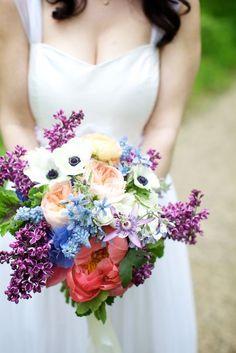 soooo beautiful: passion flowers, peonies, tulips, anemones, lilac, tweedia, ranunculus, garden roses, muscari, etc.