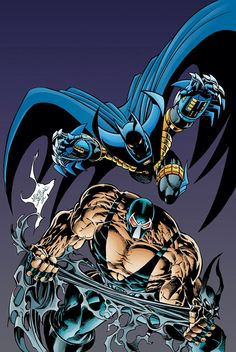 Knightfall Batman comic