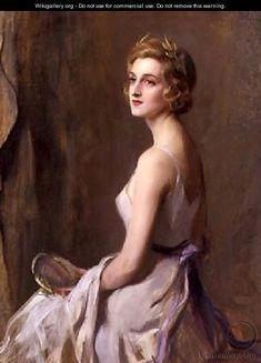 Portrait of Mrs Leo dErlanger - Philip Alexius De Laszlo