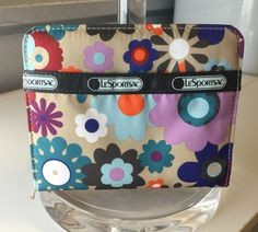 Le SportSac LeSportSac Zip Around Clutch Wallet $17 shipped