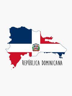 Dominica Glossy Map Flag Label Car Bumper Sticker Decal 5/'/' x 5/'/'