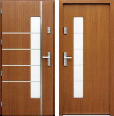 Drzwi wejściowe do domu z katalogu inox wzór 429,1-429,11