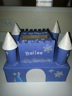 Queen Elsa valentines box
