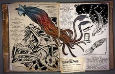 A gigantic vampire squid-like creature called Tusoteuthis vampyrus will be terrorising the seas of Ark: Survival Evolved soon. Dinosaur Photo, Dinosaur Art, Game Ark Survival Evolved, Survival Books, Monster Book Of Monsters, Wild Creatures, Strange Creatures, Strange Animals, Jurassic Park World