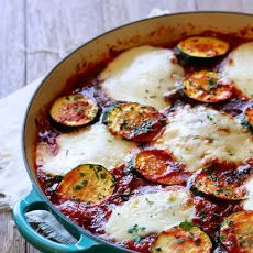 Skillet Chicken and Zucchini Parmesan Recipe
