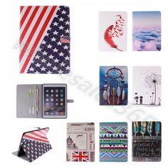For iPad/Samsung Tablets Leather Card Holder Media Stand TPU Rubber Case Cover  #UnbrandedGeneric #CardPocketMoneySlotStand