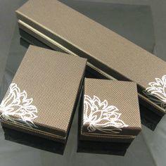 Sell Luxury jewelry packaging paper box - Qingdao Jintianfu Gift ...