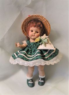 "PRECIOUS VERY EARLY VINTAGE VOGUE GINNY'S ""SANDY"" DOLL 