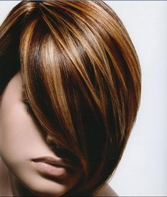highlights and lowlights for brunettes - Google Search